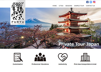 Furyu Travel Japan - A travel agent for your luxury travel, private guide, custom made tour in Japan.
